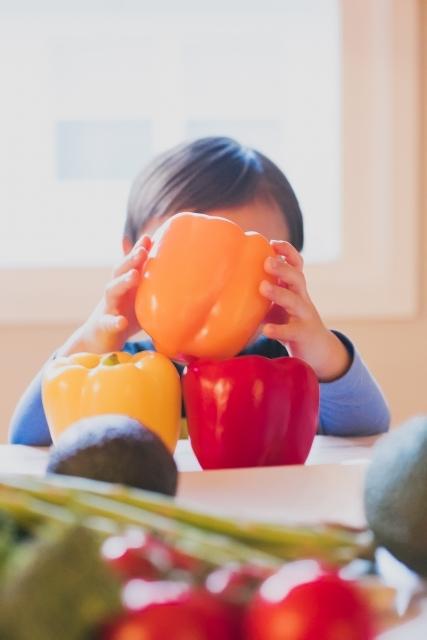 食育⑪子どもたちに人気の野菜「パプリカ」を目にもおいしく