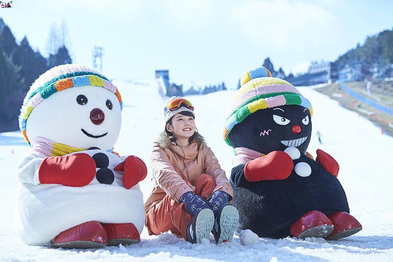 六甲山の冬の風物詩、「スノーパーク」オープン!!