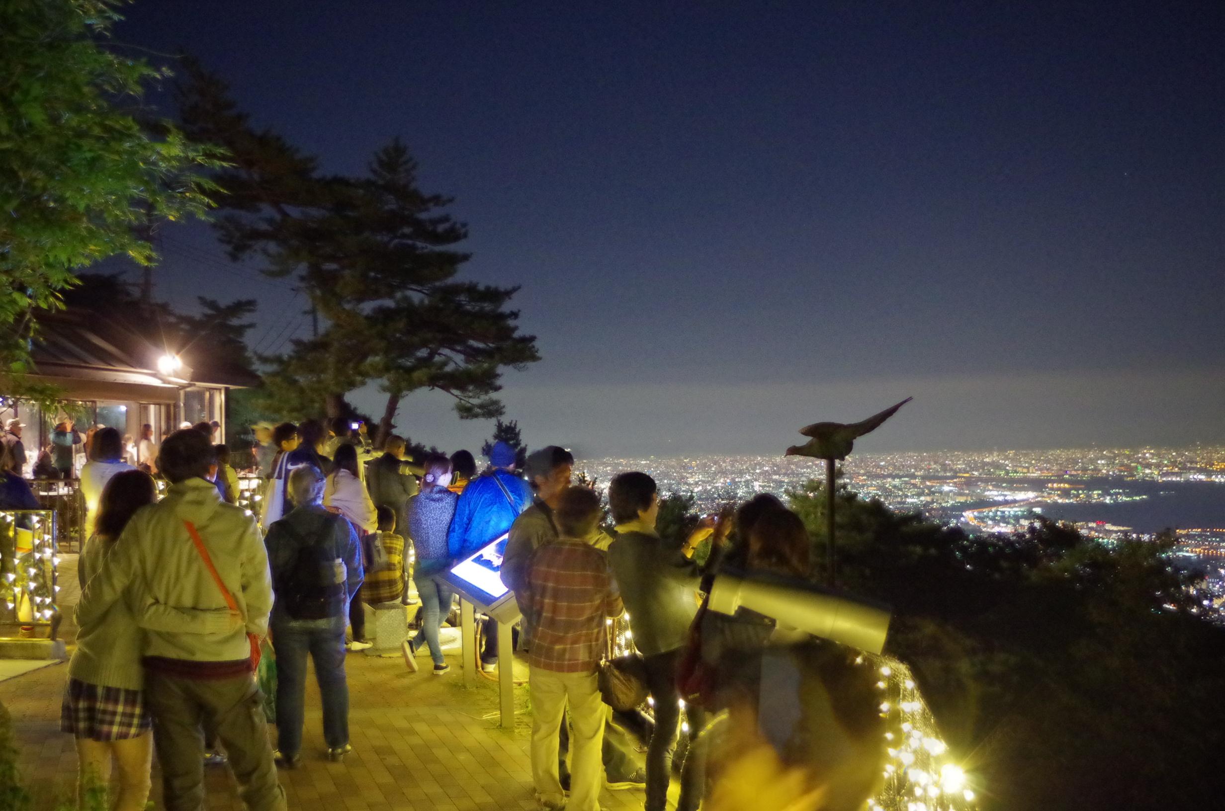 六甲ケーブルで1000万ドルの夜景を見に行く!