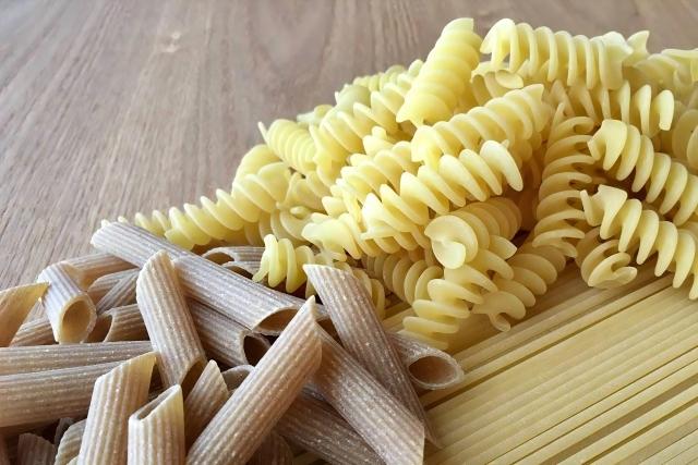 食育⑯春休みの昼にワンポットパスタ