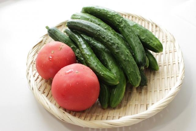 熱中症予防に夏野菜をぜひ